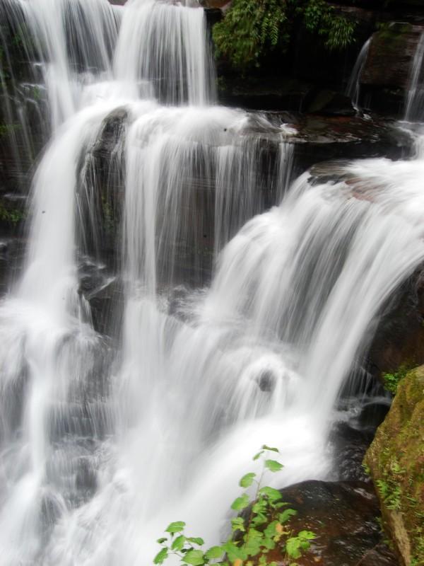 天台山 牛奶瀑布